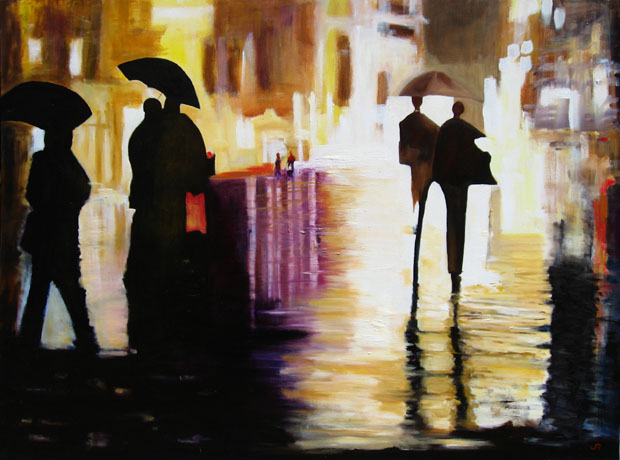 """Into The Night (SOLD)"""
