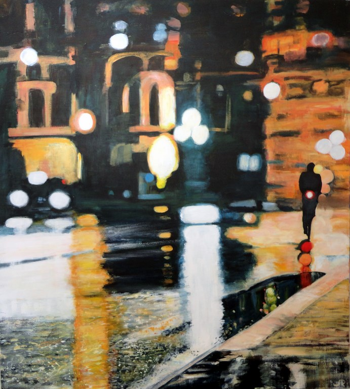 """Paris in the Rain (SOLD)"""